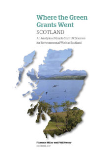 Where the Green Grants Went Scotland