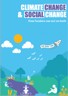 Climate Change and Social Change: how funders can act on both