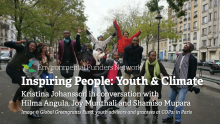 Inspiring People: Youth & Climate ~ video and podcast