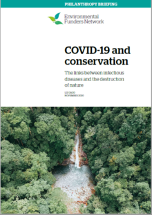 COVID and conservation briefing cover