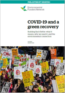 Green recovery briefing cover