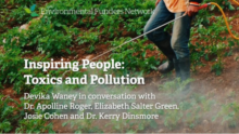Inspiring People: Toxics and Pollution