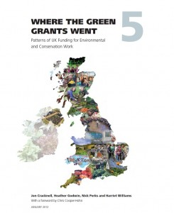 Where the Green Grants Went cover